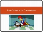 First Chiropractic Consultation