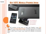 HTC mobile phones and accessories