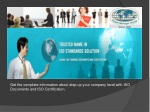ISO Consultant Offers ISO 14001 PPT | ISO Certification ppt