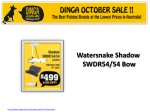 Watersnake shadw bow motor in October Sale at Dinga !