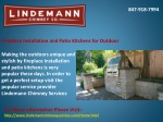 Fireplace Installation and Patio Kitchens for Outdoor