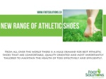 New Range Of Athletic Shoes | footSolutions Canada |