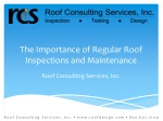 Importance of Regular Roof Inspections and Maintenance