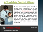 Miami Cosmetic Dentist
