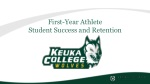 First-Year Athlete Student Success and Retention