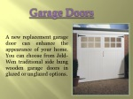 Garage Doors Prices