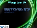 What About Secured Loan