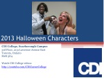 2013 Halloween Event at the CDI College Ajax Campus in ON