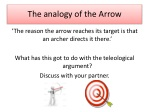 The analogy of the Arrow