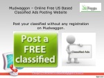 Mudwaggon - Free Classified Ads Submission Website