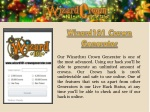 Wizard 101 Free Crowns