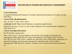 HND DIPLOMA IN TOURISM AND HOSPITALITY MANAGEMENT