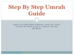 Step By Step Umrah Guide My Mim Tours