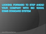 Download ISO 50001 Standard Training Presentation and Requir