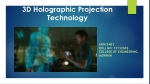 3D Holographic Projection Technology in ironman movie