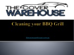 Cleaning your BBQ Grill
