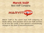 Marvit:  Best voip company