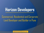 Residential and Commercial Projects-Horizon Developers