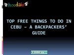 Top Free Things to Do in Cebu – A Backpackers' Guide