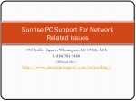 Networking Support at Sunrise Pc Support
