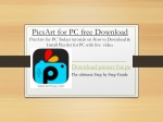 PicsArt for PC A complete Step by Step Guide