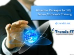 Attractive Packages for SQL Server Corporate Training