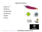 An introduction to Apache Cordova