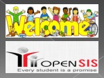 School Administration System - Opensis