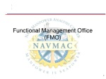 Functional Management Office  (FMO)