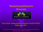 Two-Factor Authentication Market by 2017