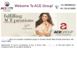 Ace Residential Project In Greater Noida.