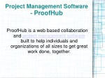 ProofHub - Project Management Software