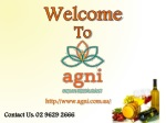 Agni Indian Resaturant - Wine & Beverage List