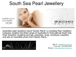 South Sea Pearl Jewellery