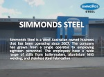 Simmonds Steel