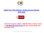 Global Pure Play Software Testing Services market to grow at