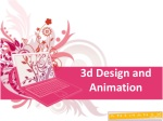 3d Design and Animation