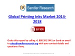 2018 Global Printing Inks Market Analysis in Research Report