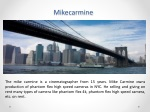 Where To Find The Mike Carmine Camera
