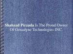 Shahzad Pirzada Is The Proud Owner Of Genadyne Technologies