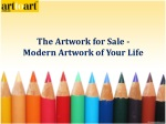 The Artwork for Sale - Modern Artwork of Your Life