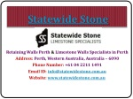 Retaining Walls Specialists Perth