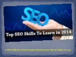 12 Most Effective Search Engine Optimization Tips to Follow