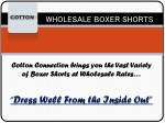 Wholesale Boxer Shorts and Briefs