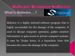 Malware remover software