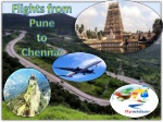 Now booking of Flights from Pune to Chennai is very easily a