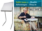 Table mate 2 - Health Advantages-Tbuy.in