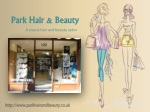Park hair and beauty - A classic hair and beauty salon