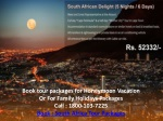 South Africa holiday packages from india, delhi, South Afric