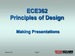 ECE362 Principles of Design
